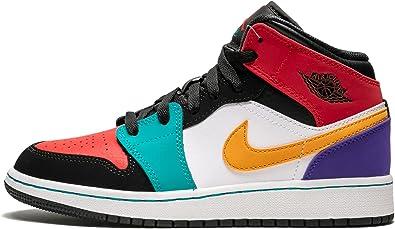 Nike AIR Jordan 1 MID (GS) Girls Fashion-Sneakers 554725
