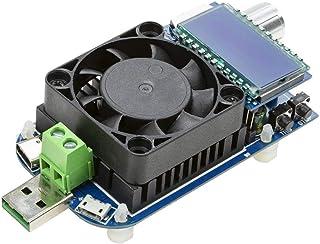 UCTRONICS Electronic USB Load Tester, Adjustable Discharge Resistor Module 35W, Test and Trigger QC2.0 QC3.0 AFC 9V FCP, I...