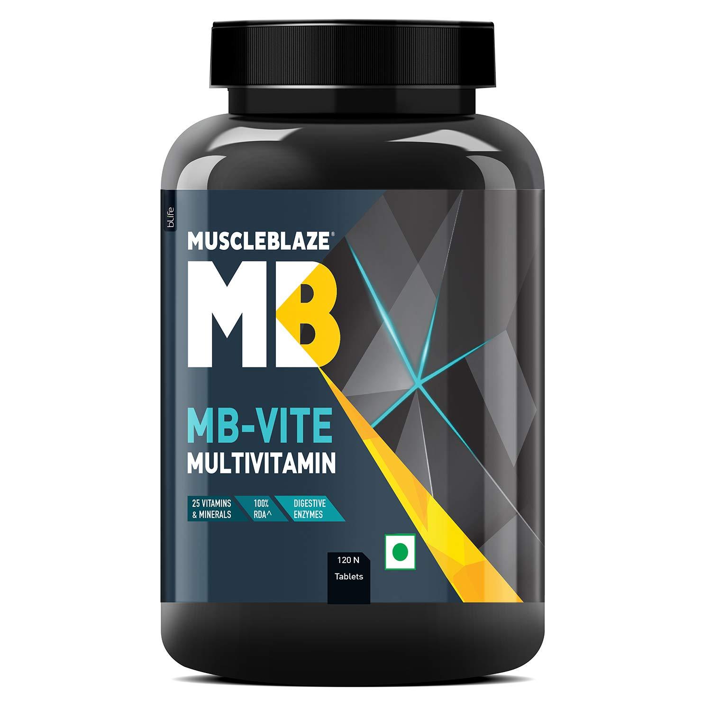 MuscleBlaze MB-Vite Immunity+ is the best multivitamin for men in india