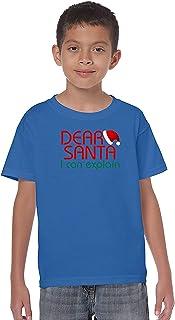 ZoDong Youth Kids Dear Santa I Can Explain Kids T-Shirt