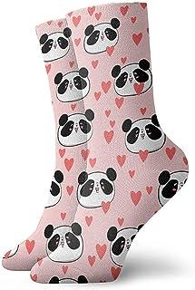 Dydan Tne, Niños Niñas Loco Divertido Rosa Animal Pnand Amor Patrones de corazón Calcetines Lindos de Vestir de Novedad