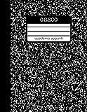 Greco Quaderno Appunti: Quaderno a righe per scuole superiori - liceo classico, quaderno in stile americano per appunti