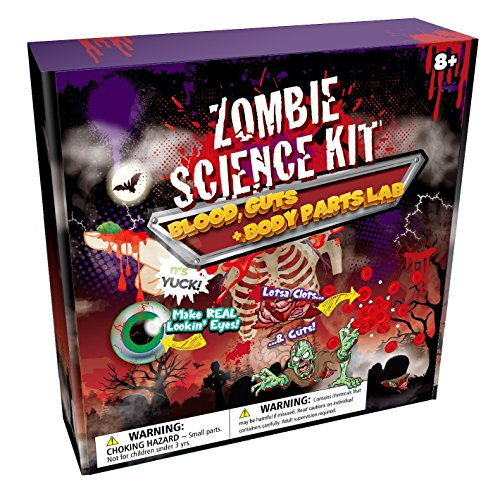 MMP Living Zombie Science Kit: Blood, Guts & Body Parts FX Lab