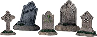 Lemax Halloween Spooky Town Set of 5 Tombstones #44145
