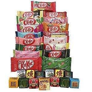 30 KITKAT assortiment de chocolat japonais kit kat & tirol différentes saveurs