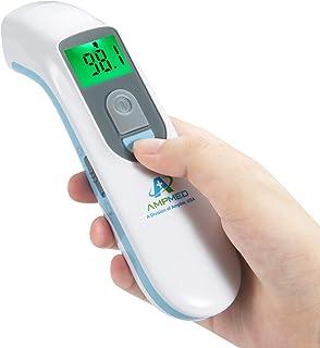 بیمارستان پزشکی درجه بدون تماس Clinical مادون قرمز پیشانی ترمومتر به علاوه مورد ذخیره سازی رایگان. Amplim Digital No Touch Baby Thermometer برای بچه ها / نوزادان / کودک نوپا / پرستاران بزرگسال / حرفه ای