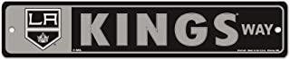WinCraft NHL Los Angeles Kings 28123011 Street/Zone Sign, 4.5