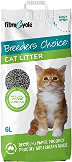 3 Pack of Breeders Choice Paper Cat Litter 6l