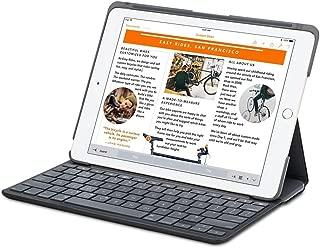 Logitech Canvas Keyboard/Cover Case (Folio) for iPad Air 2 - Black