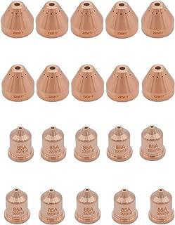 Donwind 10pcs 220817 & 10pcs 220816 shield cap fit Hypertherm powermax 65 85 105