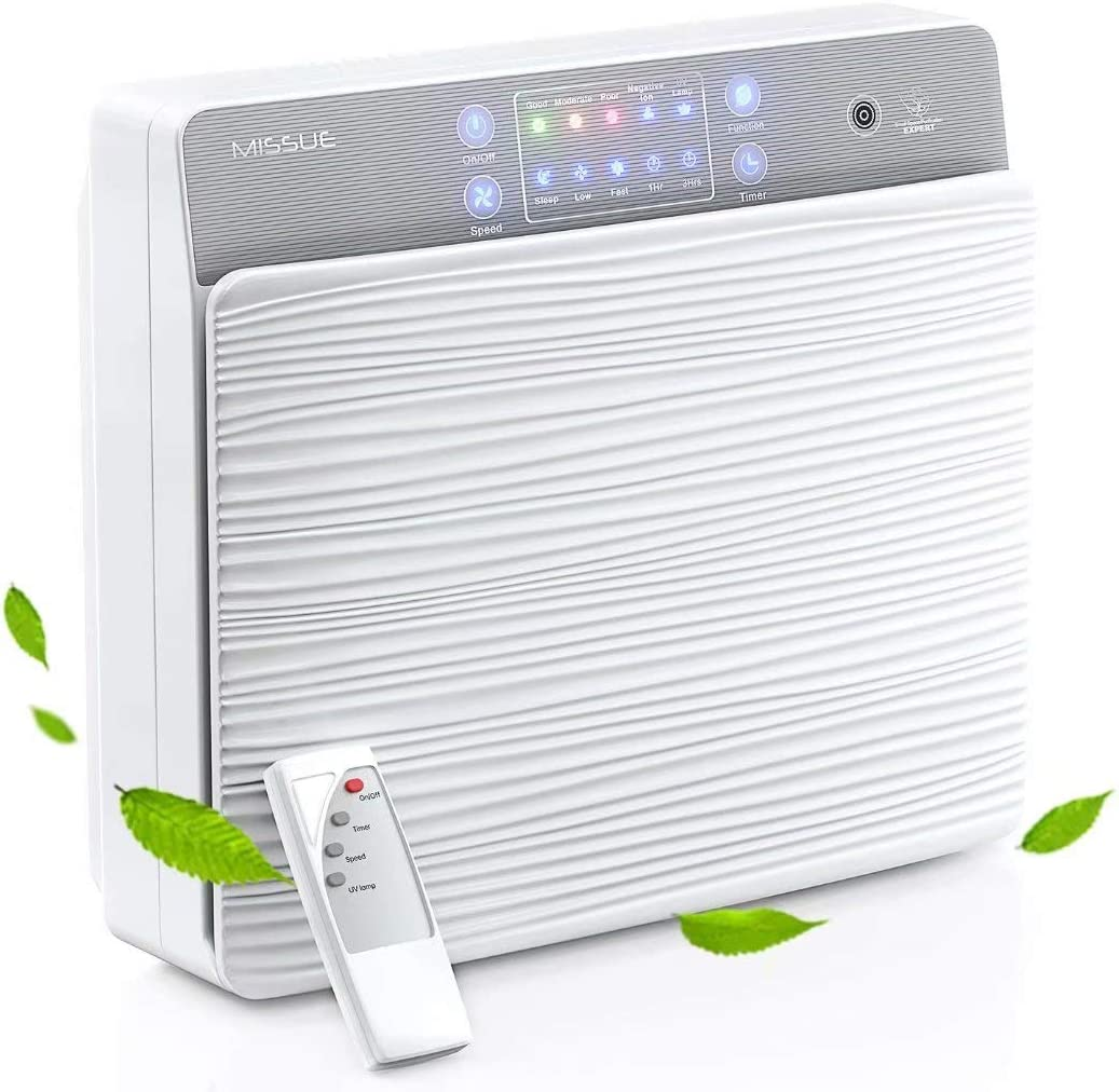 Missue HEPA Air Purifier  $49.99 Coupon
