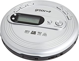 Groov e GVPS210 CD Player Retro Serie, mit Radio, MP3Wiedergabe und Kopfhörer