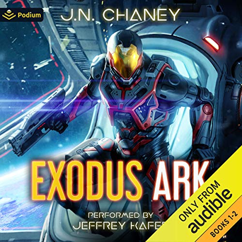 『Exodus Ark: Volume 1』のカバーアート