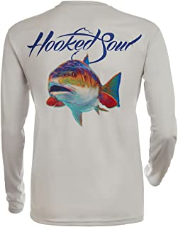 Fishing Men's UPF 50+ UV Sun Protection Outdoor Long Sleeve Performance Dri Fit-Shirts