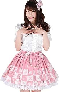 M4U Hime Elegant Lace Polyester Ruffles Lolita Skirts