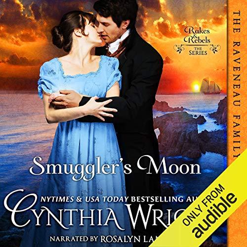 Smuggler's Moon audiobook cover art