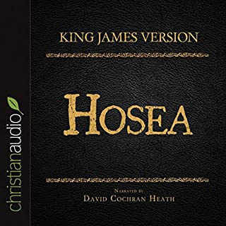 Holy Bible in Audio - King James Version: Hosea audiobook cover art