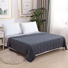 """Smart Queen Weighted Blanket Adults (15 lbs, 60"""" x 80"""") Perfect for 130-170.."""