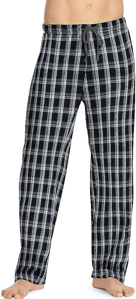 Hanes Mens Woven Pants (02000B/02000BX) at  Men's Clothing store