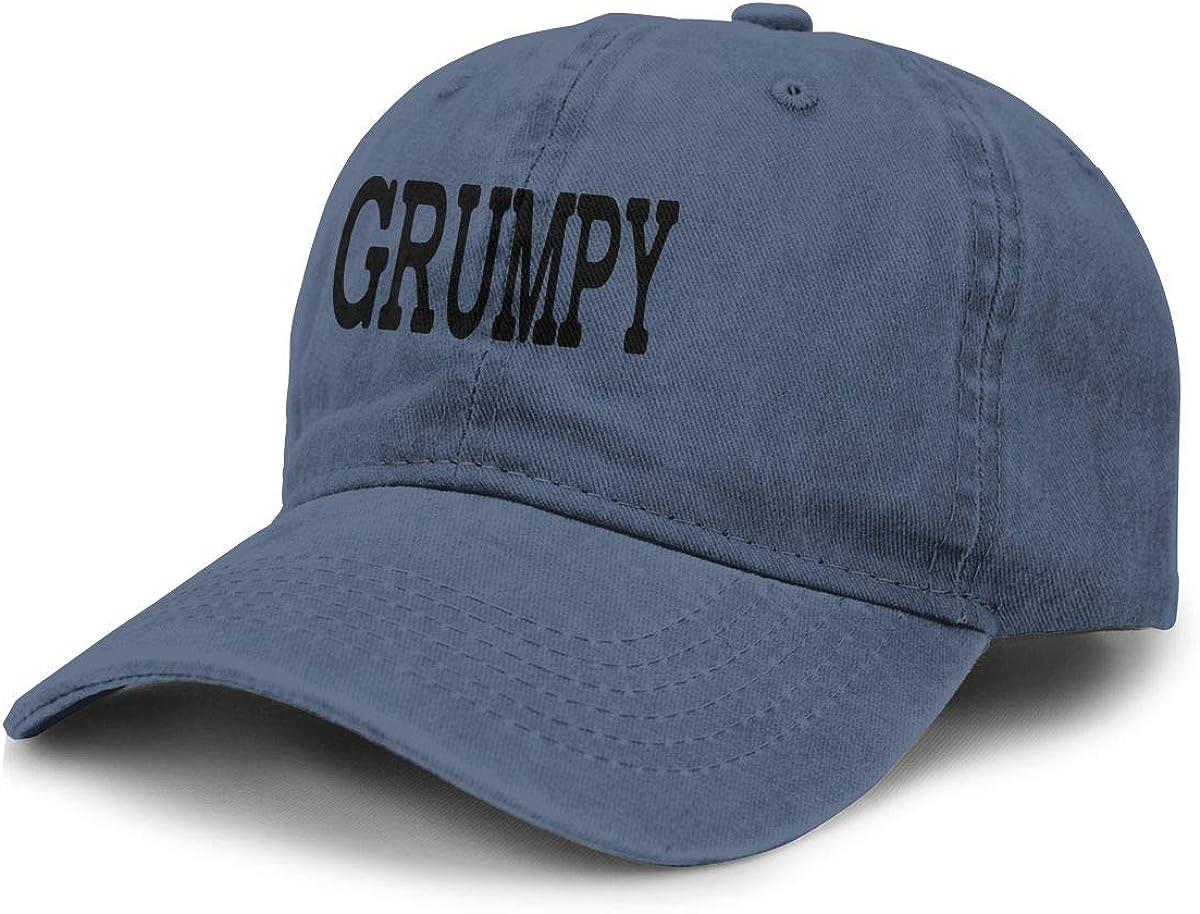 Source Point Grumpy Unisex Adult Baseball Hat Cowboy Cap Snapback