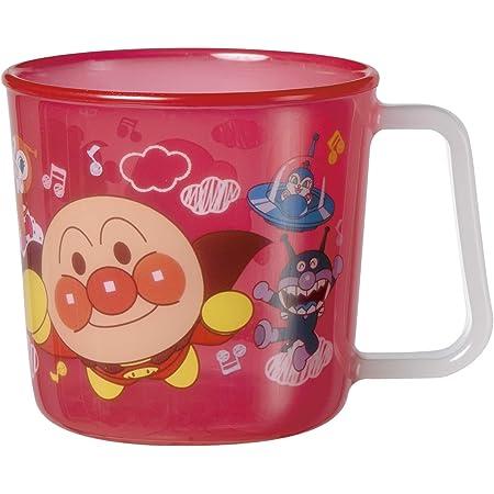 アンパンマン マグカップ レッド (絵柄がはがれないタイプ)