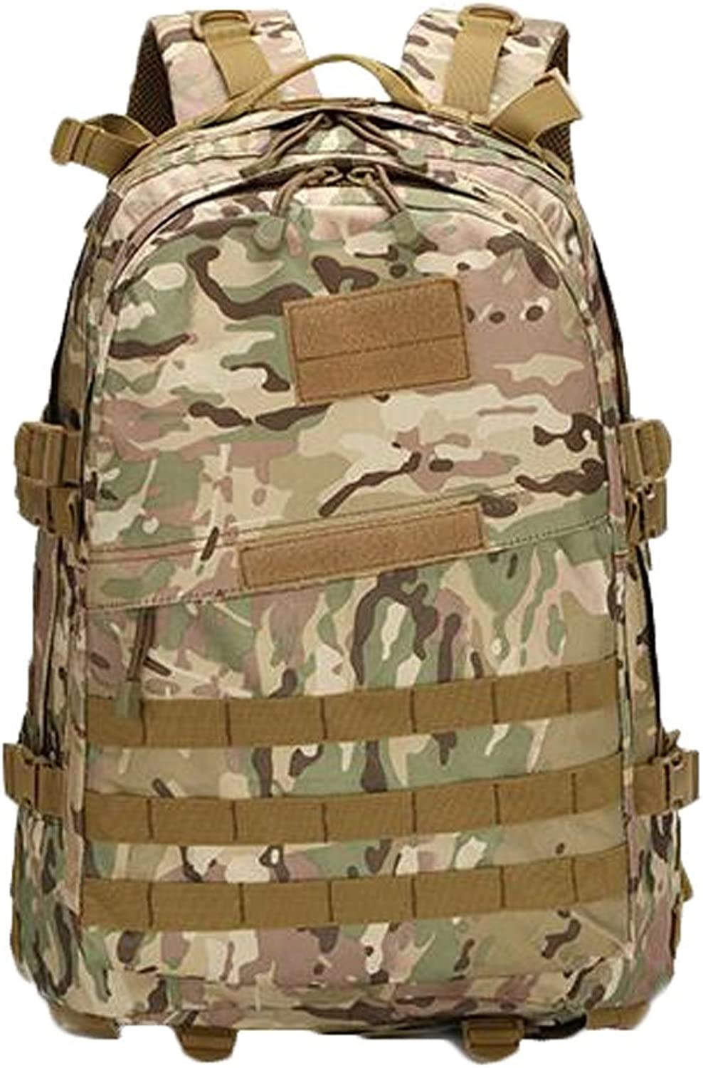 Camouflage Mountaineering Backpack for Men and Women Hiking Backpack