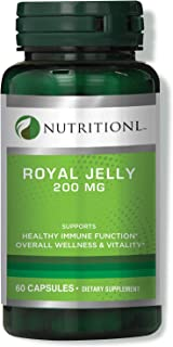 Nutritionl Royal Jelly 200 mg 60 Capsules
