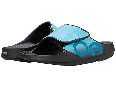OOFOS OOahh Sport Flex (Aqua) Shoes
