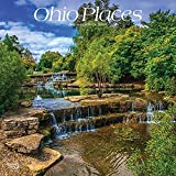Ohio Places 2022 12 x 12 Inch Monthly Square Wall Calendar, USA United States of America Midwest State Nature