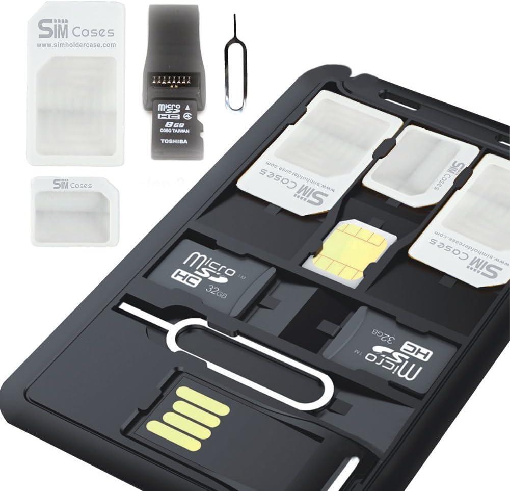 SIMCases Slim SIM 5% OFF Card holder case US + card 1 High quality MicroSD Storage
