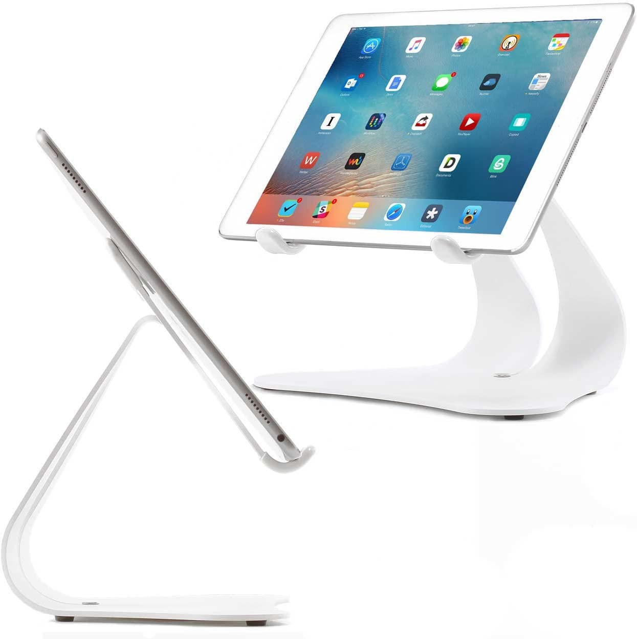 Thought Out Stabile 2.0 Bargain sale Stand White w in Made USA Compatible Over item handling ☆ -