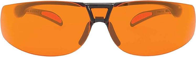 Uvex Protégé Blue Light Blocking Computer Glasses with SCT-Orange Lens (S4204X)