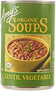 Amy's Organic Lentil Vegetable Soup, 14.5 oz