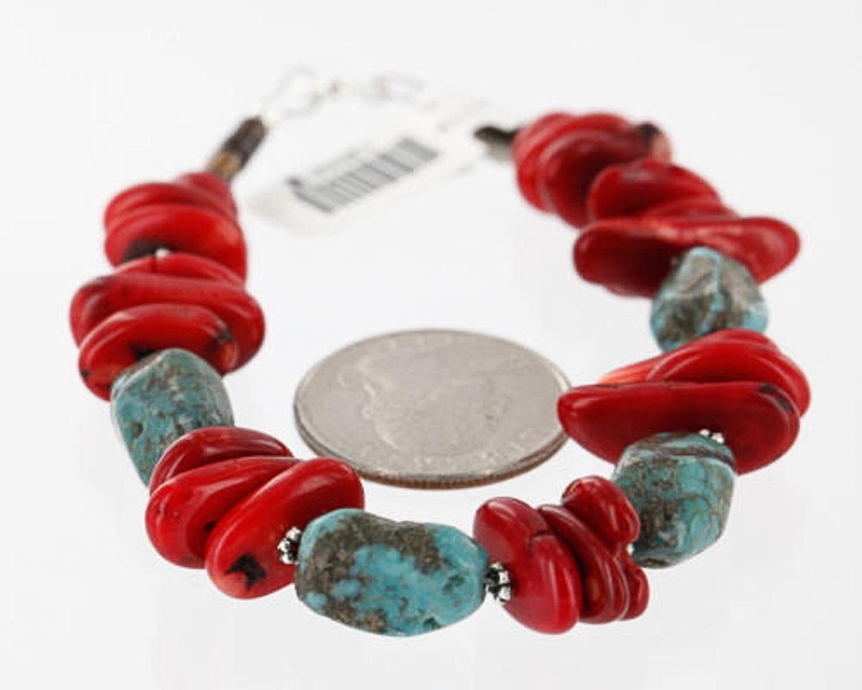 Attention brand Certified Authentic Navajo .925 Natural Turquois Max 63% OFF Sterling Silver