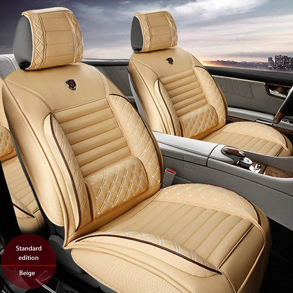Large special price !! Maiqiken Custom Auto Seat Cover Fashion PU Cadillac XT5 Embroidered for