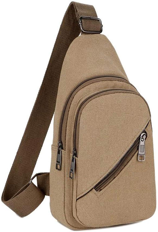Small Backpack Chest Bag Men's and Women's Shoulder Bag Outdoor Messenger Bag, Daily Travel Backpack