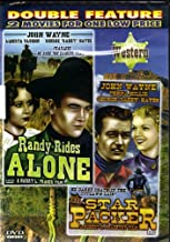 JOHN WAYNE DOUBLE FEATURE[RANDY RIDES ALONE+STAR PACKER][SLIM CASE]