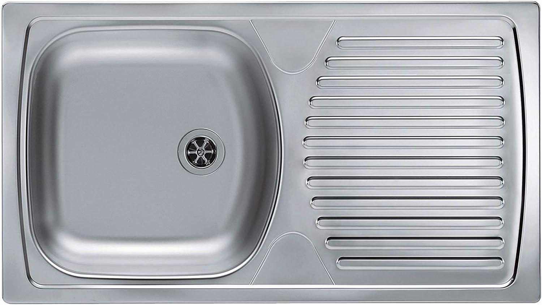 Alveus Inset Kitchen Sink Campingspüle Basic 170 1088849 Stainless Steel Sink