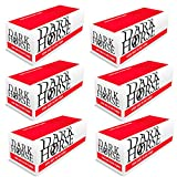 Dark Horse 10000 Zigarettenhülsen Filterhülsen mit Filter Zigaretten-Hülsen Zum Stopfen von Zigaretten mit Tabak und Zigarettenstopfer Hülsen