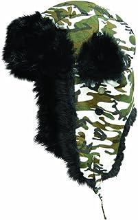 Dakota Dan Trooper Ear Flap Cap w/Faux Fur Lining Hat
