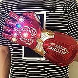 BLL LED Avengers Iron Man Cosplay Glove Thanos Superhero PVC Infinity...