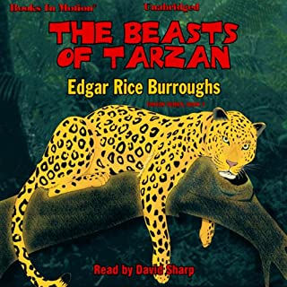 The Beasts of Tarzan audiobook cover art
