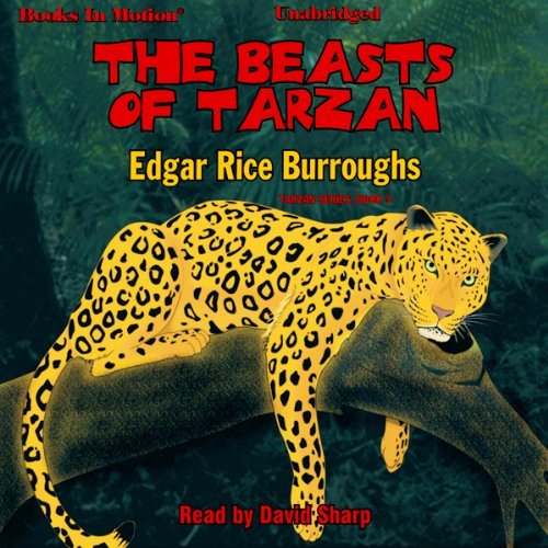 The Beasts of Tarzan audiobook cover art
