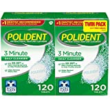 Best Denture Cleaners - Polident 3 Minute, Antibacterial Denture Cleanser 120 ea Review