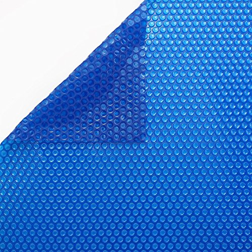 INTERNATIONAL COVER POOL Cobertor Solar 600 micras Eco para Piscina de 3 x 6 Metros sin Refuerzo