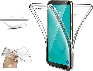 XCYYOO Coque pour Samsung Galaxy J6 2018,Samsung Galaxy J6 2018 Intégrale Avant et Arrière 360 Degrés Étui de Protection,[...