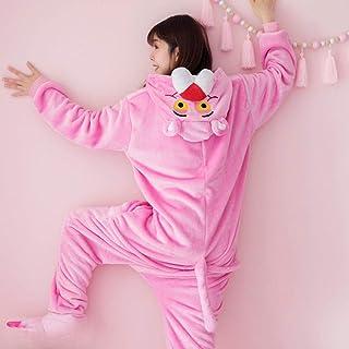 Pijama Invierno Mujeres Hombres Unisex Adulto Lindo Dibujos Animados Onesie Animal Pijamas Unicornio Stitch Fire Dragon Kigurumi Franela camisón Ropa de Dormir Mono