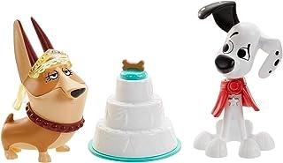 Disney 101 Dalmatian Street Figuras de la boda Dylan y Clarissa con accesorios juguete niños +5 años (Mattel GBM40)