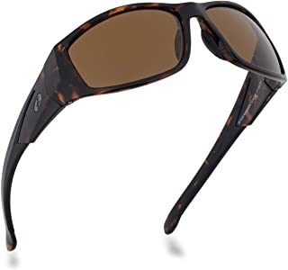 Sponsored Ad - BNUS Sunglasses for Men & Women, Polarized glass lens, Color Mirrored Scratch Proof