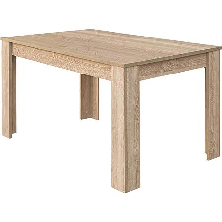 Loungitude - Table à manger extensible L140/190 cm - Chêne clair
